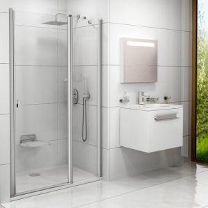 Душевые двери Ravak Сhrome CSD2-100 (профиль - полированный алюминий; стекло - Transparent (прозрачный))