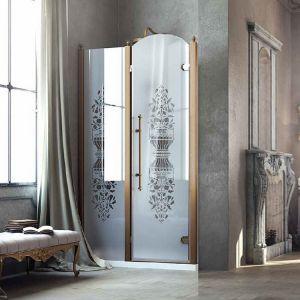 Душевые двери Box&Co Principe 90  (профиль - хром; стекло - прозрачное)