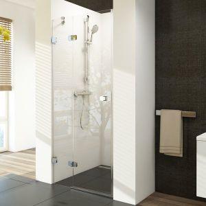 Душевые двери Ravak Brilliant BSD2-100 A-R (профиль - хром; стекло - Transparent (прозрачный))