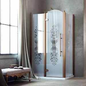 Душевая кабина Box&Co Principe 120 x 90  (профиль - хром; стекло - прозрачное)