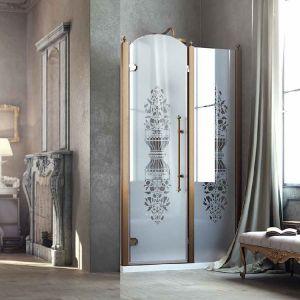 Душевые двери Box&Co Principе 120  (профиль - хром; стекло - прозрачное)