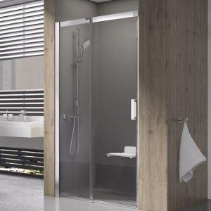 Душевые двери Ravak Matrix MSD2-100 L (профиль - сатин; стекло - Transparent (прозрачный))