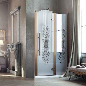 Душевые двери Box&Co Principe 120  (профиль - хром; стекло - прозрачное)