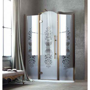 Душевые двери Box&Co Principe 145  (профиль - хром; стекло - прозрачное)