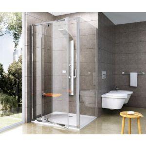 Неподвижная стенка Ravak Pivot PPS-100 белый+Transparent (прозрачный)