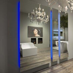 Зеркало Antonio Lupi Divo с подсветкой 220х45 см