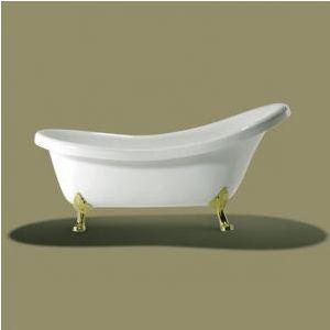 Ванна акриловая Knief Victinian 175х82,5 см + ножки (золото)
