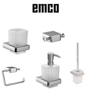 Комплект настенных аксесуаров Emco Trend, цвет хром