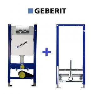 Комплект инсталляций Geberit Duofix для унитаза и биде