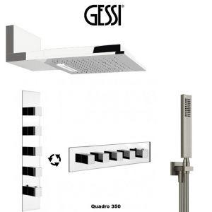Душевая система скрытого монтажа Gessi Quadro 350