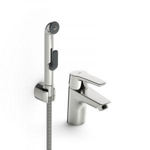 Смеситель для раковины с ручным душем Oras Saga New XL (цвет - хром) 3912F
