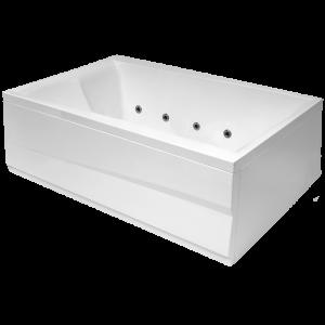 Ванна акриловая Balteco Scala S4 180 х 120 см + сифон и панель