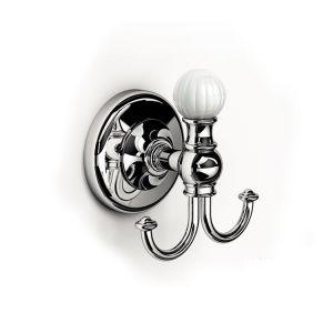 Двойной крючок IBB Venezia, керамика/хром