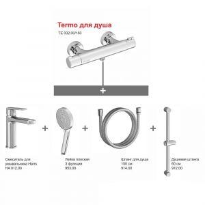 Комплект смесителей для душа с термостатом Ravak Termo 5-в-1 (цвет - хром)