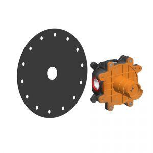 Скрытая часть смесителя для раковины Gessi Cono (цвет - хром)