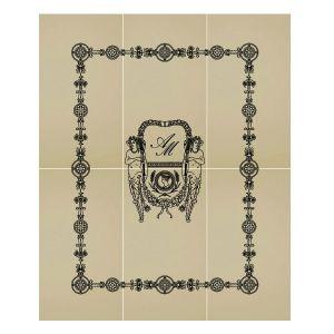 Декоративный элемент Petracer's Ad Personam, Composizione Blason