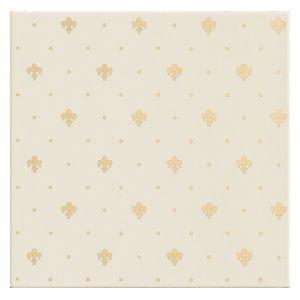 Керамическая плитка для стен Petracer's Elegance Gold, Giglio Oro su Panna