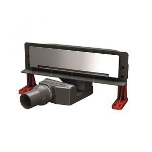 Трап для душа в стену Pestan Slim Line 330 мм+ решетка для трапа (нержавеющая сталь)