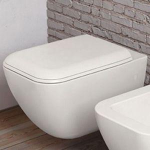 Унитаз подвесной с крышкой soft closing Cielo Shui Comfort rimless White