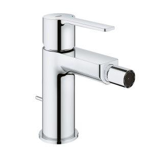 Смеситель однорычажный для биде Grohe Lineare DN 15 S-Size (цвет - хром) с донным клапаном