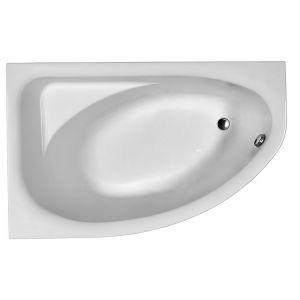 Ванна акриловая асимметричная Kolo Spring 160 х 100 см, левая, ножки в комплекте