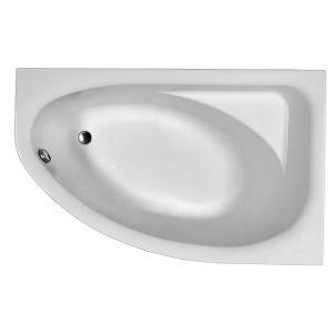 Ванна акриловая асимметричная Kolo Spring 160 х 100 см, правая, в комплекте ножки