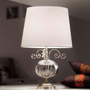 Настольная лампа Masiero Antika, цвет отделки - Argento Antico