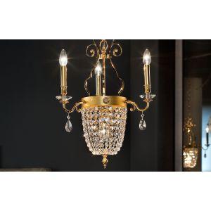 Подвесной светильник Masiero Elegantia, цвет отделки - Oro Lucido