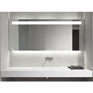 Зеркало с блестящей кромкой Antonio Lupi LAMPO с белой светодиодной подсветкой