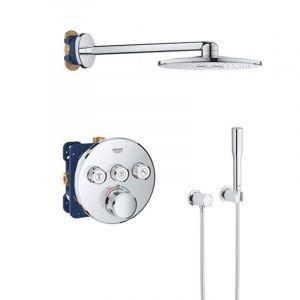 Душевая система Grohe Grohtherm скрытого монтажа с термостатом с верхним душем Ø 310 мм (цвет - хром)