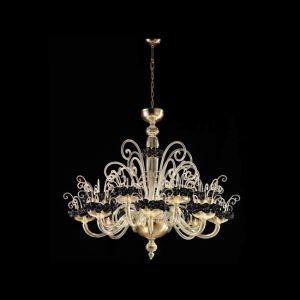 Люстра De Majo (цвет стекла - золотой)