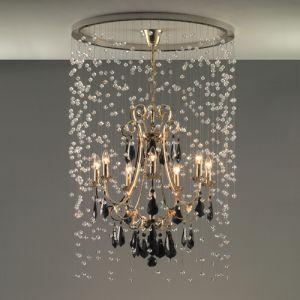 Потолочная люстра с рефлектором (непосредственное крепление к потолку) Faustig Ø 80 см, h=120 см