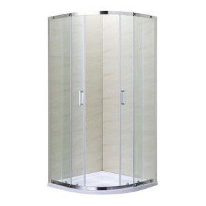 Душевая кабина Eger Tokai 90 х 90 х h200 см (профиль хром, стекло прозрачное) с поддоном