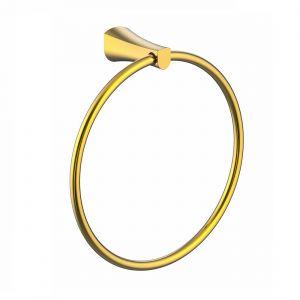 Полотенцедержатель кольцо Imprese Cuthna (цвет - золото)