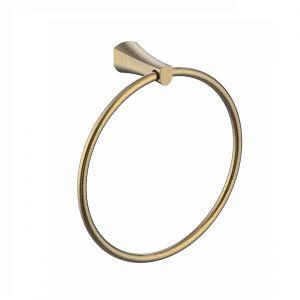 Полотенцедержатель кольцо Imprese Cuthna (цвет - бронза)