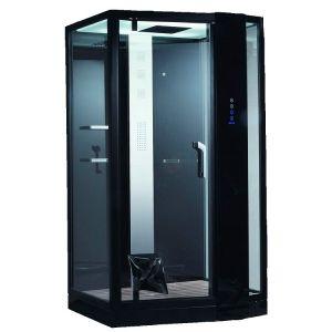 Паровой бокс Devit Soul 1200 × 900 х h2200 мм (стекло прозрачное) левое открывание