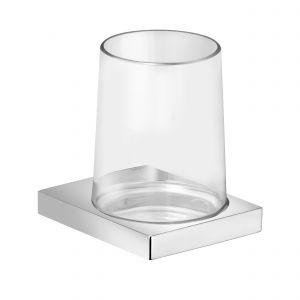 Держатель стакана в комплекте с хрустальным стаканом Keuco Edition 11