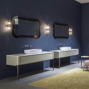 Тумба под раковину для ванной комнаты Antonio Lupi ILBAGNO 126cm со столлешницей marmo