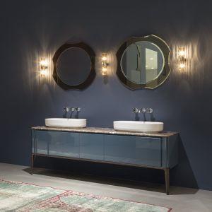 Тумба под раковину для ванной комнаты Antonio Lupi ILBAGNO 153 cm со столлешницей marmo