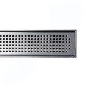 Решетка для душевого трапа Aco C-line под Плитку 685мм из нержавеющей стали Квадрат