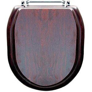Крышка для унитаза Devon&Devon Classica, темный дуб