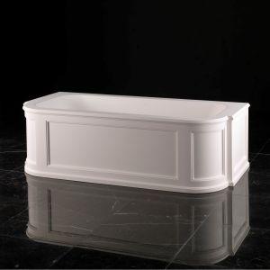Отдельностоящая ванна Devon&Devon President, белая