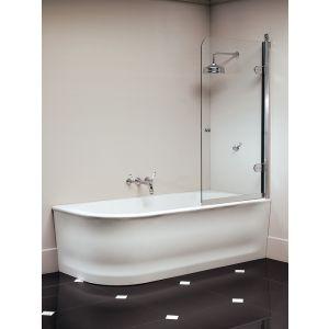 Угловая ванна Devon&Devon Wave, правая, белая