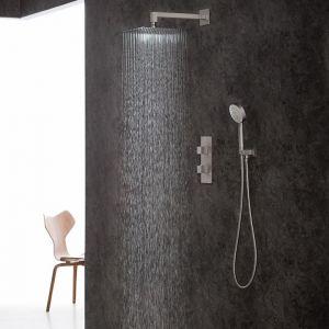 Душевая система Graff Aqua-Sense Ø 202 мм, цвет - BS/SN Steelnox® никель