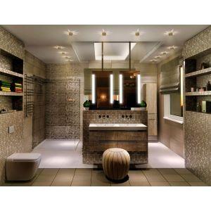 3D визуализация ванных комнат 3d MAX