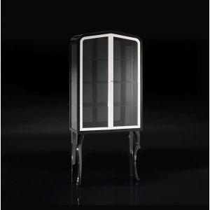 Шкаф из крашенного дерева Devon&Devon Dancer 1, со стеклянными дверцами