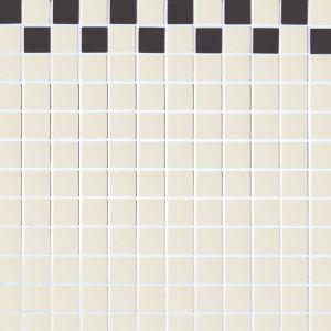 Мозаика Devon&Devon 2х2 White-Black 308x308 мм