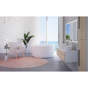 Ванна из каменной массы Xonyx™ Balteco Allure Ø 135 см