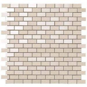 Мозаика Atlas Concorde Kone White Mosaico Brick 30,4 x 30,4 см Matt