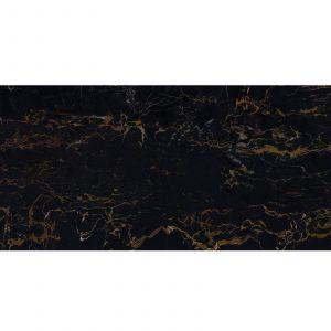 Плитка настенная Fiandre Marble Lab Nero Portoro 60 х 30 см Lucidato
